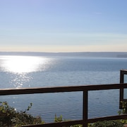 Rare GEM Direct Waterfront on Hood Canal, Olympic Mts/ Wildlife From Every View