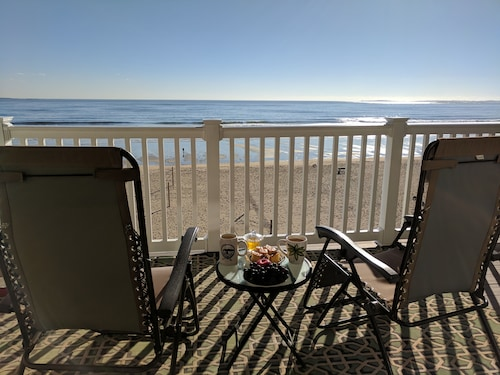 Oceanfront Condo! Spectacular Views From Private Large Balcony and Live Music