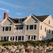 Luxury Waterfront Home With Private Beach on Cape Cod Bay