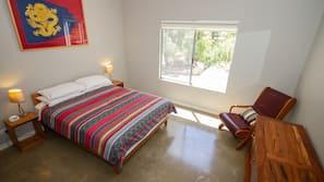 4 chambres, fer et planche à repasser, draps fournis