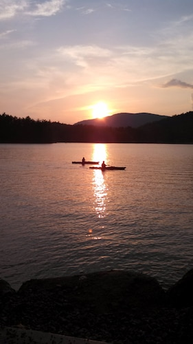 Waterfront Camp On Schroon Lake