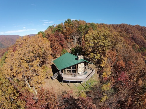 Cold Mountain @ 3600 Feet. Enjoy Beautiful Views From Large Deck at