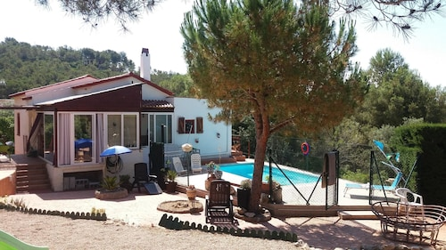 Villa With 3 Bedrooms in Masllorenç, With Wonderful Mountain View, Private Pool and Enclosed Garden - 20 km From the Beach
