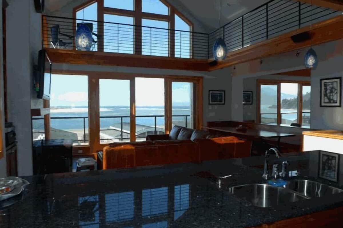 Amazing Ocean View Luxury Beach Home The Skyscraper Netarts In Tillamook Or Expedia