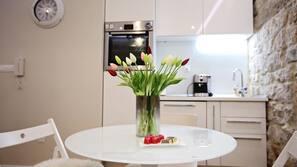 Fridge, oven, dishwasher, electric kettle