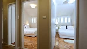 2 bedrooms, premium bedding, in-room safe, individually decorated