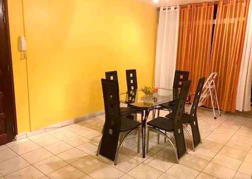 Apartment With 3 Bedrooms in Les Abymes, With Wonderful City View, Balcony and Wifi - 5 km From the Beach