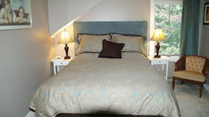 Pillowtop beds, individually decorated, individually furnished
