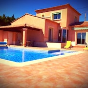 Villa with heated pool, the Ardeche Gorges
