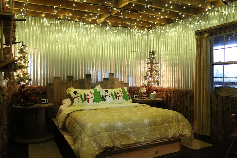 Room, The Christmas Cabin at Christmas Tree Lane