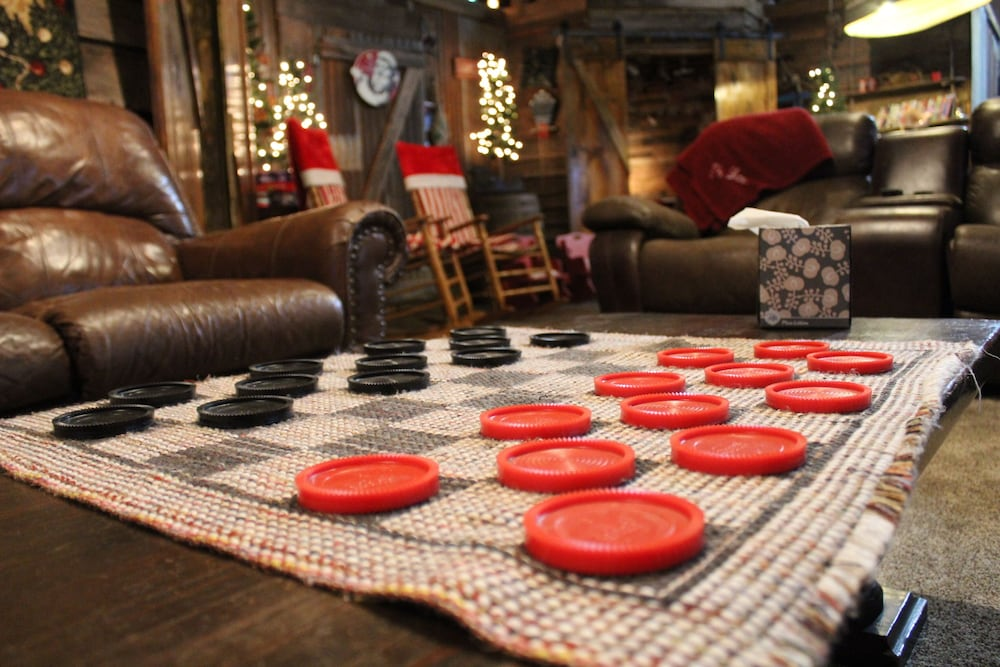 Game Room, The Christmas Cabin at Christmas Tree Lane