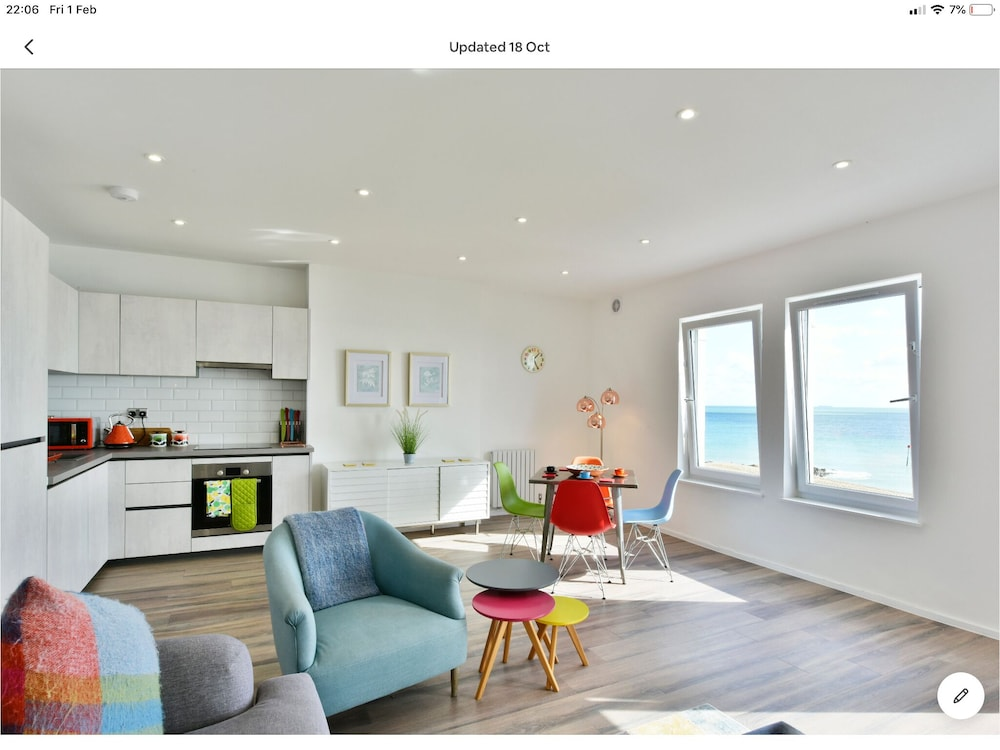 Seaside Escape on the Kent Coast -luxury 2 Bedroom Apartment