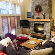 New Lower Dec Rates! - Luxury 3 Bdrm Townhome W/private Shuttle. Walk to Village