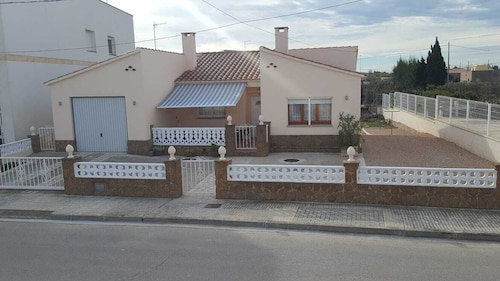 Casa Felix is Located in Sant Jaume D'enveja in the Heart of the Delta de L'ebro