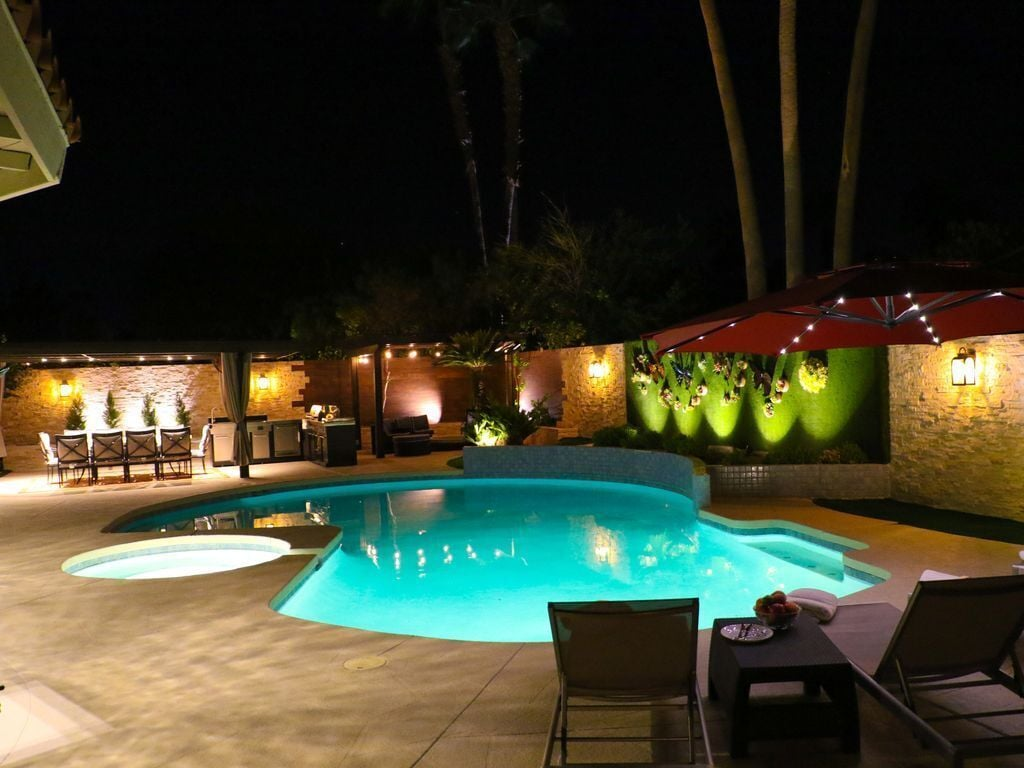 Luxury Modern Home Pool Spa Fire Pit License 16537 Palm Springs Hotelbewertungen 2020 Expedia De