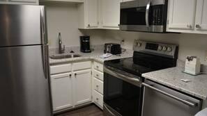 Microwave, dishwasher