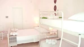 3 camere, copriletto in piuma, minibar, una cassaforte in camera
