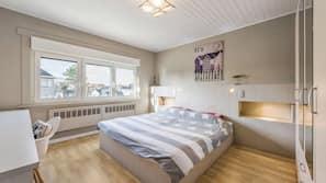 4 chambres, fer et planche à repasser, lits bébé (gratuits)