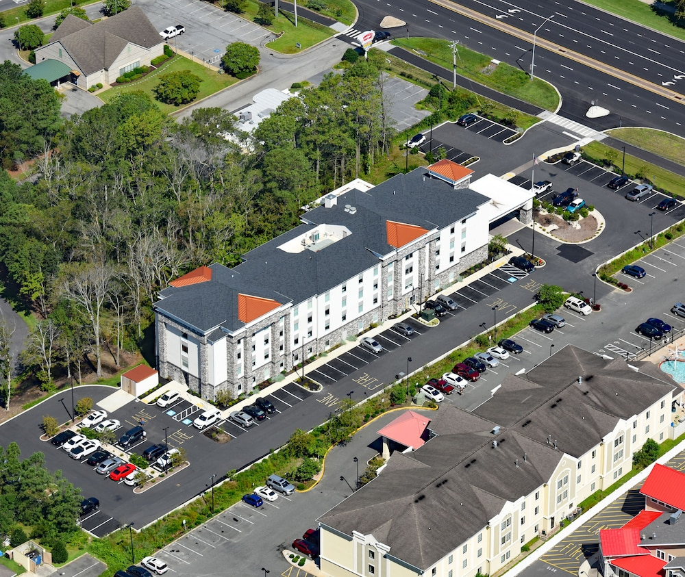 Aerial View, Hampton Inn & Suites Ocean City West