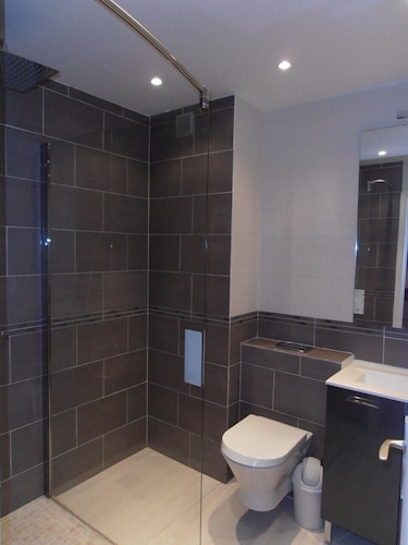 Bathroom, Antibes Residence With Pool, Tennis, Very Large Terrace, Garden, Prox sea