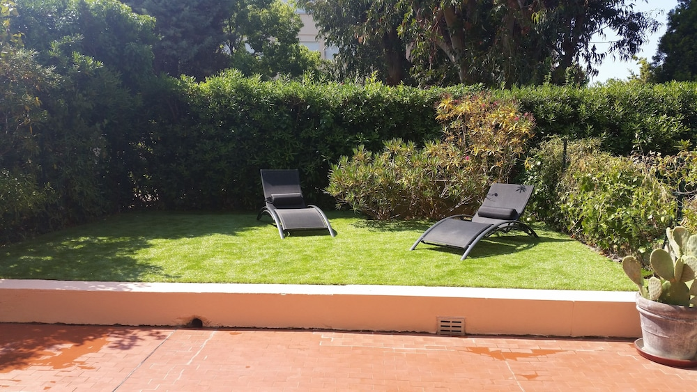 Balcony, Antibes Residence With Pool, Tennis, Very Large Terrace, Garden, Prox sea