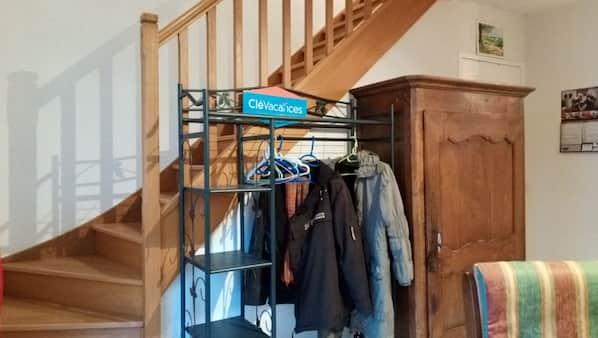 2 chambres, fer et planche à repasser, draps fournis