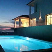 Villa With 4 Bedrooms in Oletta, With Wonderful Mountain View, Private Pool, Furnished Terrace