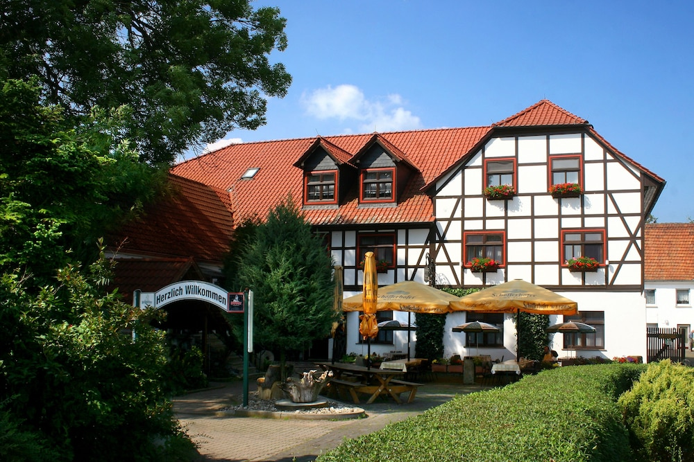 Front of Property, Pension Weidemühle