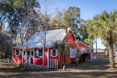 New! Historic 1910 Gullah House on Intracoastal Waterway -spectacular Water View