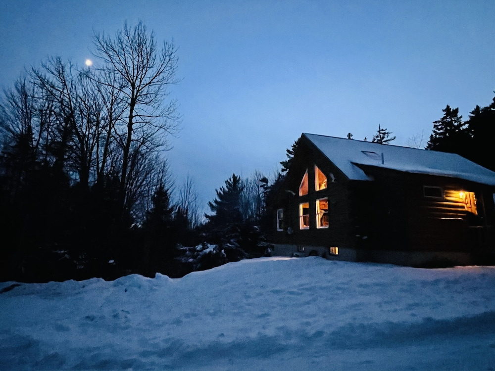 Exterior, Black Mtn/ Jackson NH Private -On Hike Trails ,swim, Golf, Fish, Mtn Bike Relax