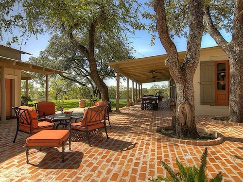 Luxury Ranch ON 110+ Manicured Acres W/ Pool AND Party Barn