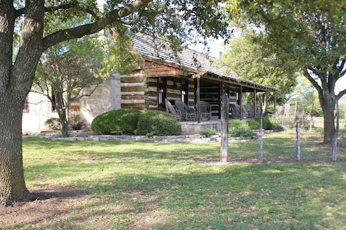Reconstructed 1860's Dogtrot Cabins on the Beautiful and Scenic Diamond Y Ranch