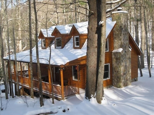 Exterior, Just Steps Away From the Appalachian Trail
