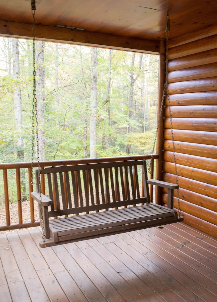 Balcony, Just Steps Away From the Appalachian Trail