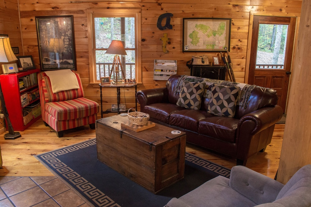 Living Room, Just Steps Away From the Appalachian Trail