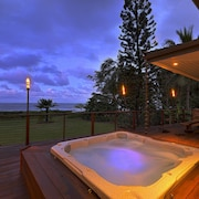 Beachfront Elegance on Kauai's Famous Coconut Coast