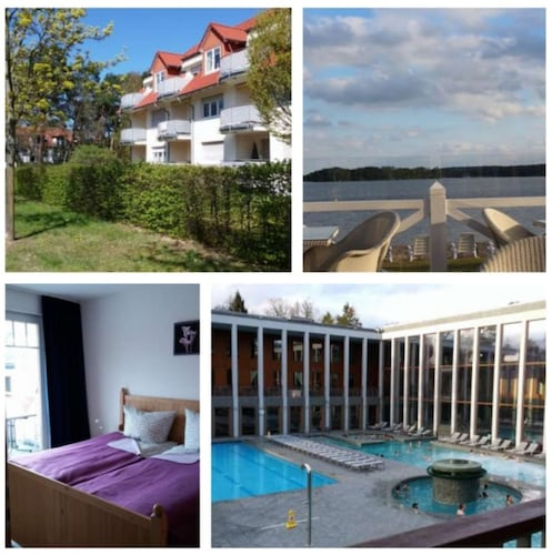 Best Location Directly at the Saarow Therme! 100 m. to the Scharmützelsee!