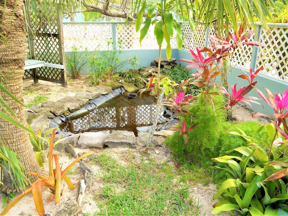 Property Grounds, Nice Wooden House, a few Steps From the Beach - Sleeps 6 - Strategic Location