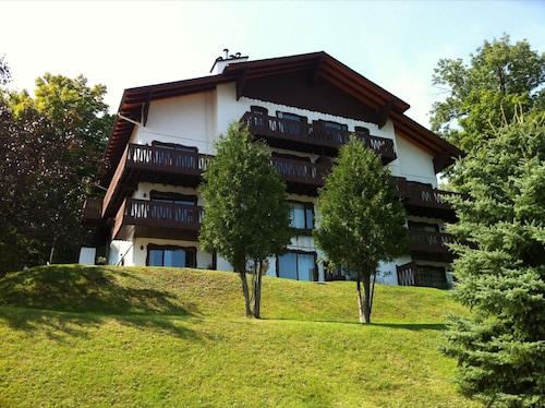 Tremblant 1br, Spectacular View, 2km to Mountain, Beach, Pool