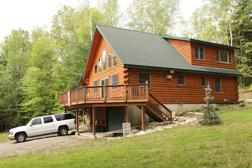 Lake George Custom Built LOG Cabin