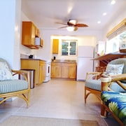 Hawaiian Cottage-seconds Away From Beach Access- air Conditioning