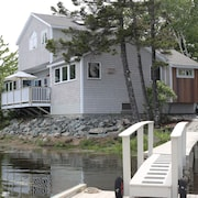 Sea Breezes is an Elegant Waterfront Home Near Acadia