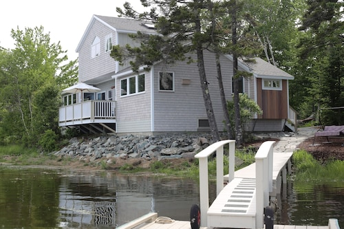 Sea Breezes is an Elegant Waterfront Home Near Acadia National Park