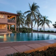 Stunning Beachfront Luxury Villa On Troncones Beach