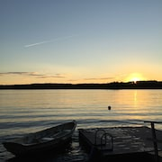 Beautiful Sunsets on Damariscotta Lake