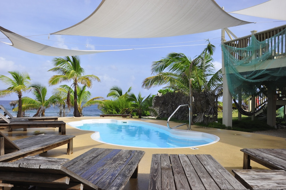 Pool, Beautiful!, Palm Trees, Sand Beach, Pool W/shade Sails, Beach Cabana, & More!