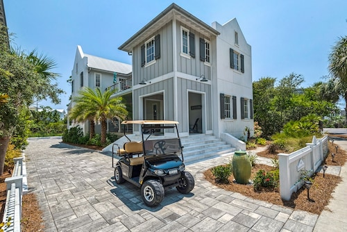 Amazing Brand New Beach Home 4 BR 3 1/2 BA Sleeps 12. Video in Profile!