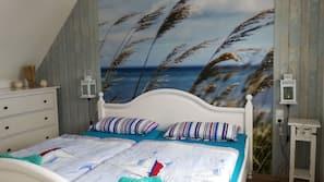2 Schlafzimmer, Zimmersafe, Bügeleisen/Bügelbrett, Babybetten