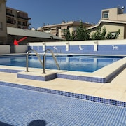 Family Apartment With Terrace of 30m² Offering Direct Access to the Pool