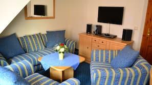 2 Schlafzimmer, hochwertige Bettwaren, Zimmersafe, individuell dekoriert